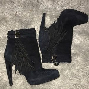 Sam Edelman Boots with Fringe